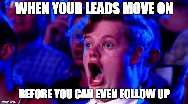 atevent leads follow up meme
