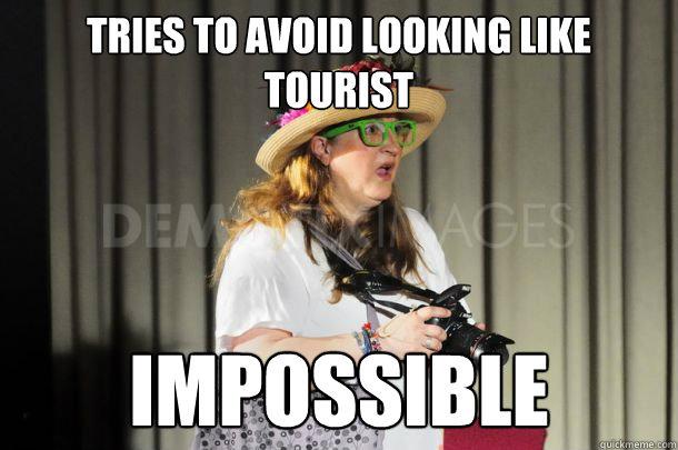 tourist meme